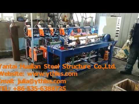 Railings by Auto welding Machine   steel structural Platform Handrails