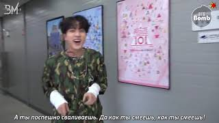 BTS reaction to Mic Drop рус.саб[RUS SUB][BANGTAN BOMB] Behind the stage of 'MIC Drop' @BTS DNA COME