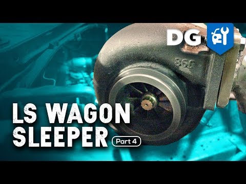 WE GOT A TURBO: LS Swap in a Mercedes AMG Wagon (Part 4)