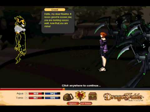 Let's Play Dragon Fable Pt 101 - The Ravenloss Saga - Tomix the Showoff...