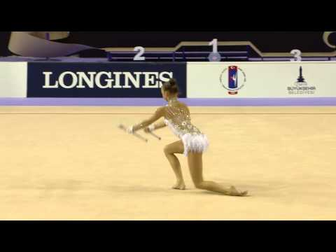 Marina Durunda (AZE) - Clubs Final - 2014 World Rhythmic Gymnastics Championships