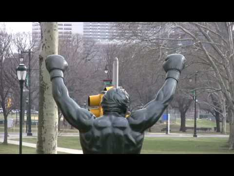 THE FAMOUS ROCKY STATUE IN HD