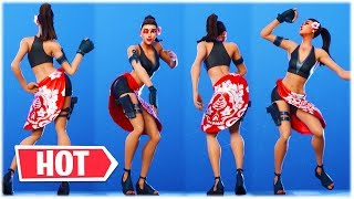 "*NEW* HOT BEACH BABE SKIN ""DOUBLECROSS"" SHOWS HER SHORT HOTPANTS 😍❤️ Fortnite Item Shop"