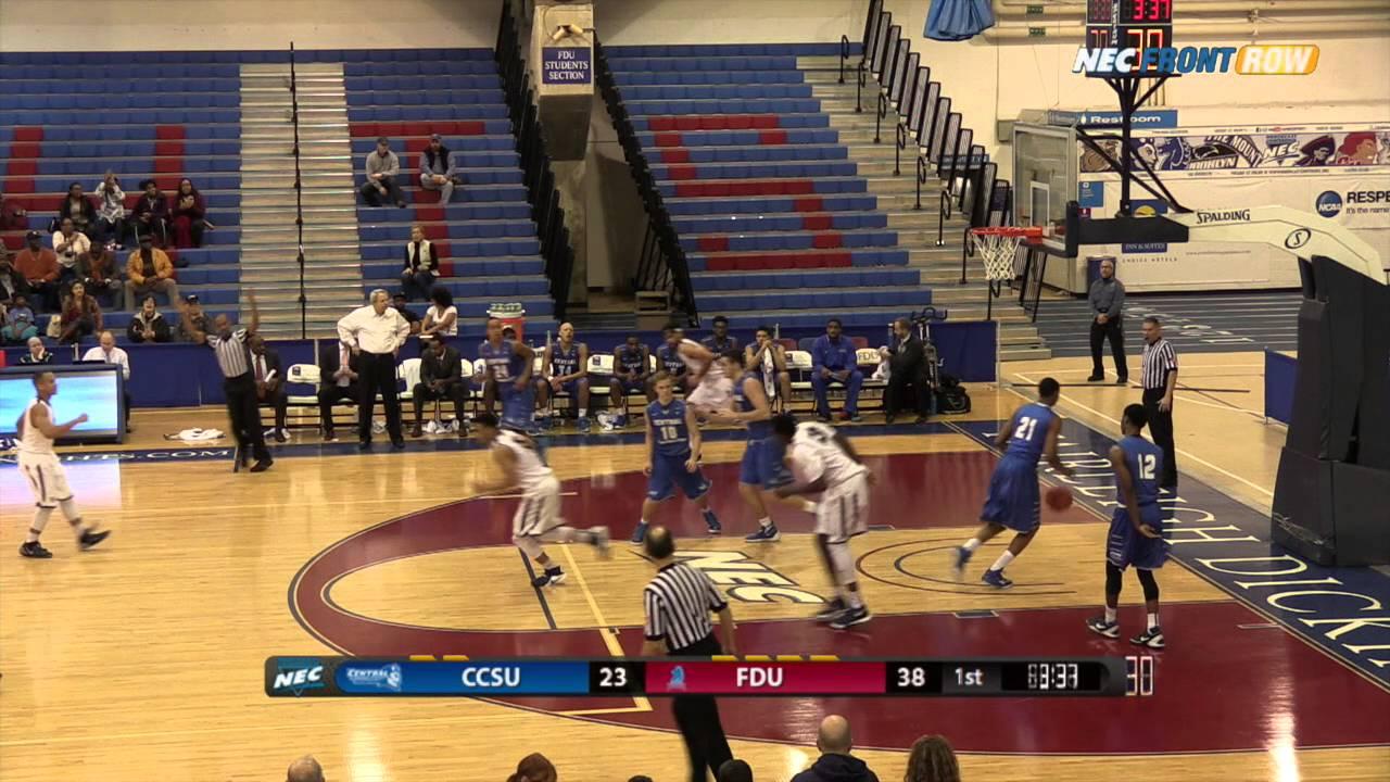 FDU Men's Basketball vs. Central Connecticut - Highlights ...