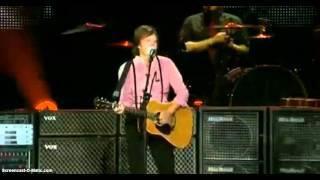 """Paul McCartney - Live in Mexico """"Something/Algo"""" Desde el ZOCALO."""
