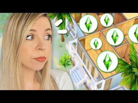 8 SIMS dans cette MAISON de vacances ?! 🌊 - Challenge Sims 4