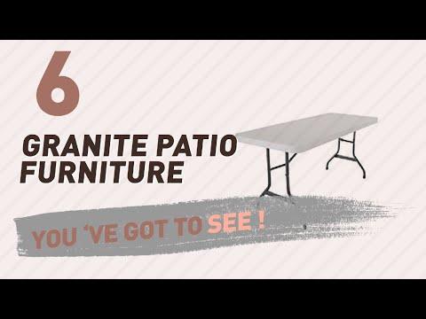 Lifetime Granite Patio Furniture // New & Popular 2017