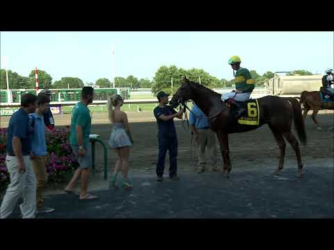 video thumbnail for MONMOUTH PARK 7-20-19 RACE 5 – THE OCEANPORT STAKES