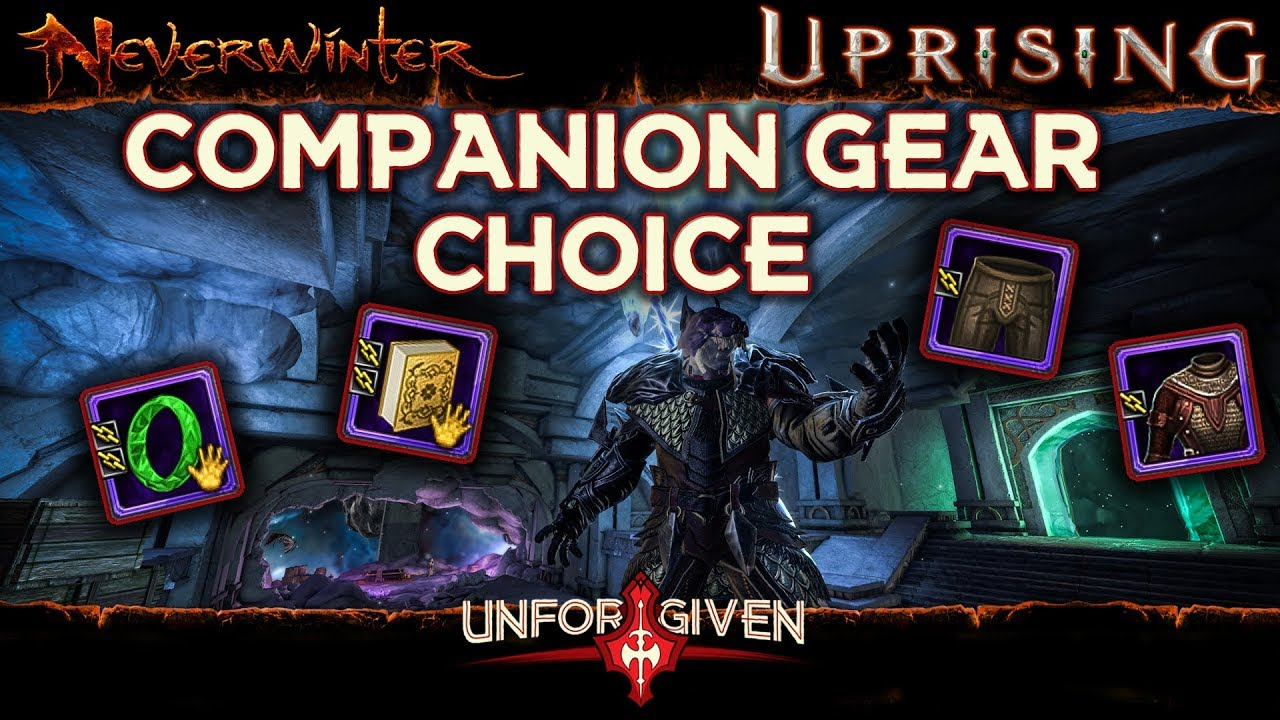 Neverwinter Companion Gear