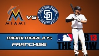 MLB 13 The Show Franchise Mode: Miami Marlins - I
