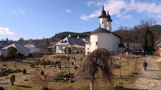 In vizita la Manastirea Varatec (Exclusiv in Romania)