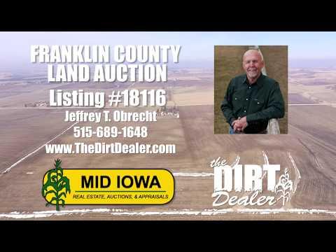 -AUCTION- Franklin County, Iowa. 150 acres m/l.