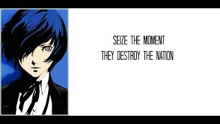 Persona 3 OST - Mass Destruction (With Lyrics)