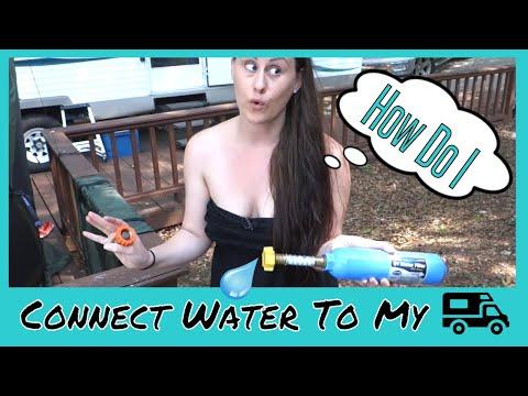 rv water hose hookup