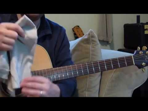 Cleaning Guitar Strings - How To Clean The Strings Of Your Guitar