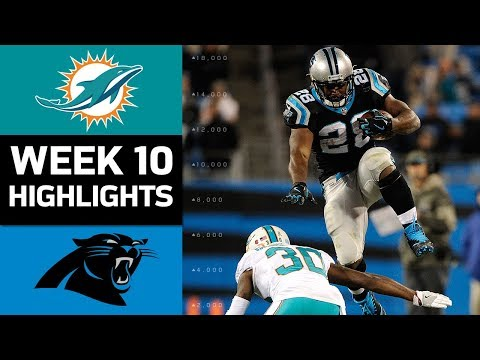 Thumbnail: Dolphins vs. Panthers | NFL Week 10 Game Highlights