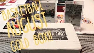 Brothers In Cards Basketball Gold Box. Plus Mailday & Winner