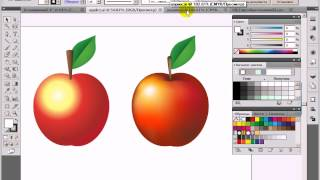 Видео урок по Adobe Illustrator - урок 2