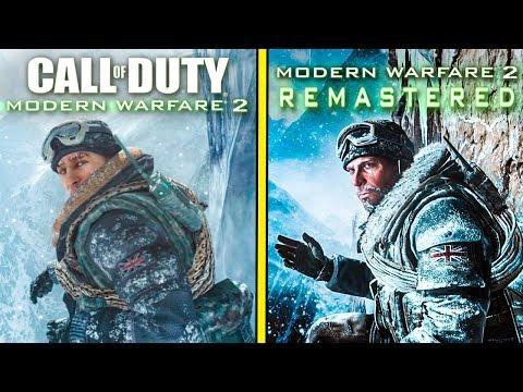 Modern Warfare 2 Remastered Vs Original | Graphics Comparison (4K 60FPS)