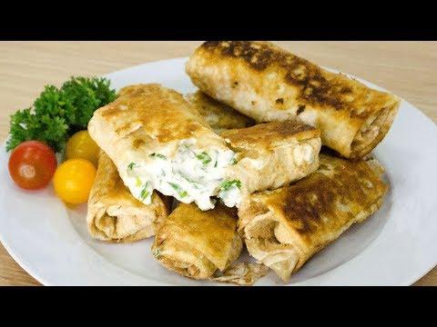 Лаваш с сыром – диетический перекус