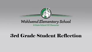 WES 3rd Grade Reflection Thumbnail