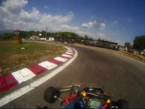 Duelo de Karting Joseph Antabi con Jose Gregorio Garcia (on board)