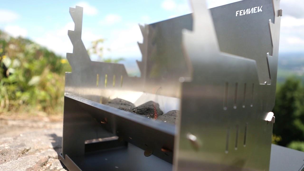 Outdoor Küche Wandern : Fennek grill outdoor wandern freiheit! youtube
