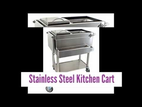 images-for-stainless-steel-kitchen-cart