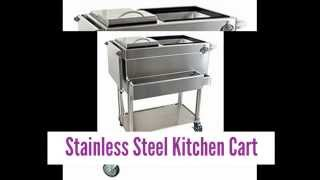 Images For Stainless Steel Kitchen Cart