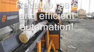 Sami Autochopper Automatic log splitter of the next generation wmv