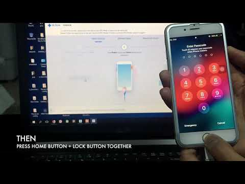 HOW TO UNLOCK IPHONE IF YOU FORGOT PASSCODE