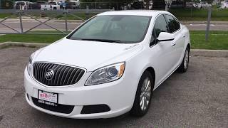 """Pre-Owned 2013 Buick Verano Bluetooth USB AUX 17"""" Wheels Leather Cloth Mix Oshawa ON Stock # 171010A"""