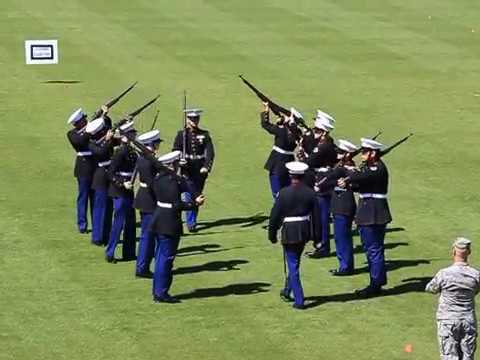 Mosley High School Marine Corp JROTC Drill Competition