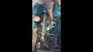 FIAT 128 1.3@1.6 enfierrado PUESTA EN MARCHA