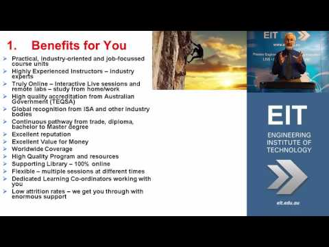 Benefits of EIT's Engineering Bachelor of Science and Master Degrees