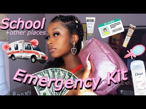 What You Need In Your School Emergency Kit
