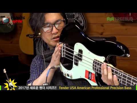 Todaysgear Fender Professional Precision Bass