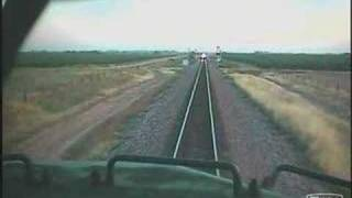 Kismet Head On Train Derailment (original onboard camera upload)