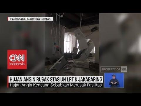 Hujan Angin Rusak Stasiun LRT & Jakabaring Mp3