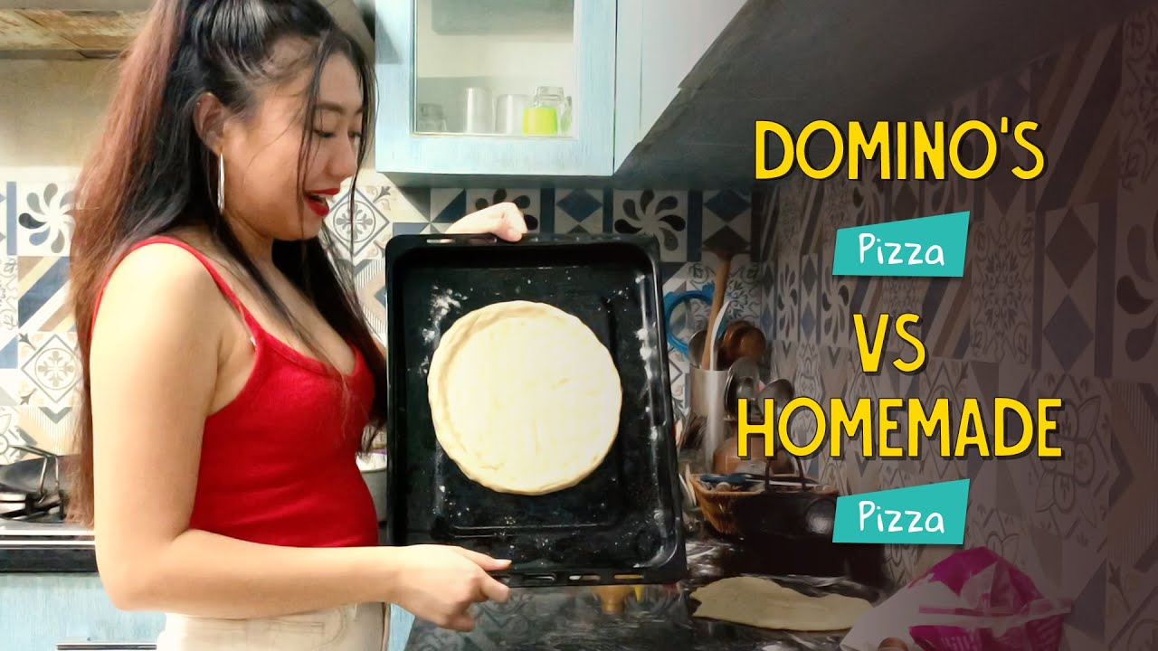 Domino's Pizza Vs Homemade Pizza | Ok Tested