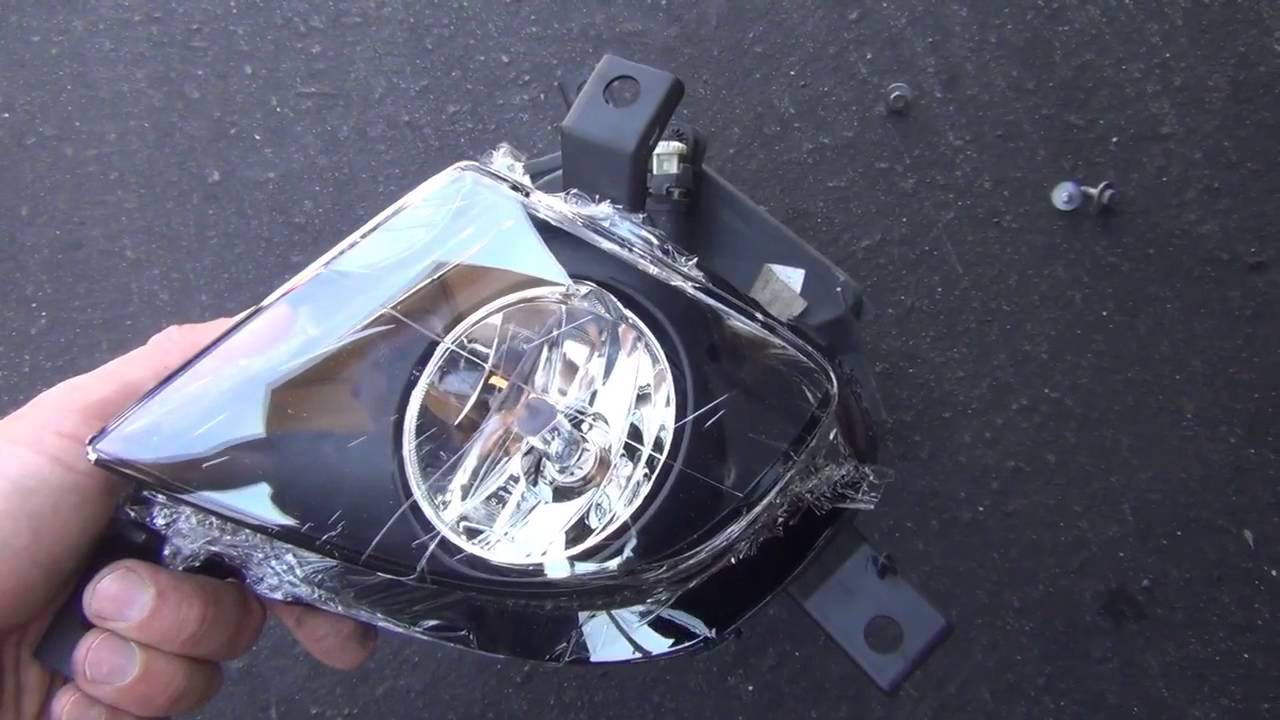 BMW 3 Series E90 Fog Light Replacement DIY YouTube