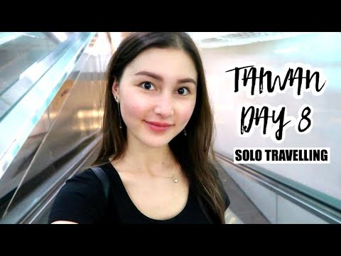 Taiwan Trip Day 8⎮Solo travel back home, the best cake ever & a lot of unpacking