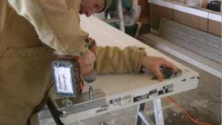 Ideal (brand) Garage Door With High Lift Rails Installation
