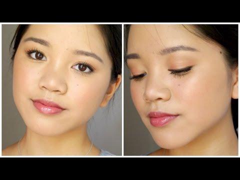 Tutorial: Wearable Strobing Drugstore Makeup    Dewy, Sweet & Natural! thumbnail