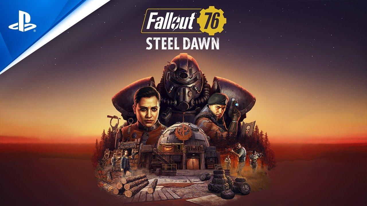 "Tráiler teaser ""Reclutamiento"" de Fallout 76 - Steel Dawn"
