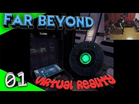 Far Beyond: A space odyssey - Demo [Let's Play][Gameplay][German][HTC Vive][Virtual Reality]