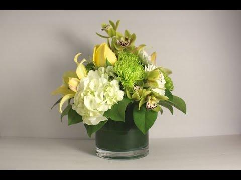 Modern Flower Arrangement Youtube