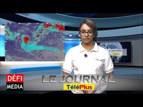Le Journal Téléplus – Le centre de la tempête Berguitta passera très près de Maurice jeudi matin