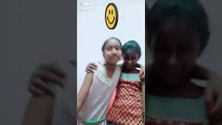 Tik tok by cute little girls