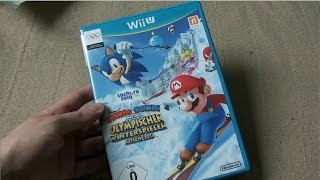 Unboxing (PL) - Mario & Sonic at the Sochi 2014 Winter Olympic Games (2013 - Wii U)